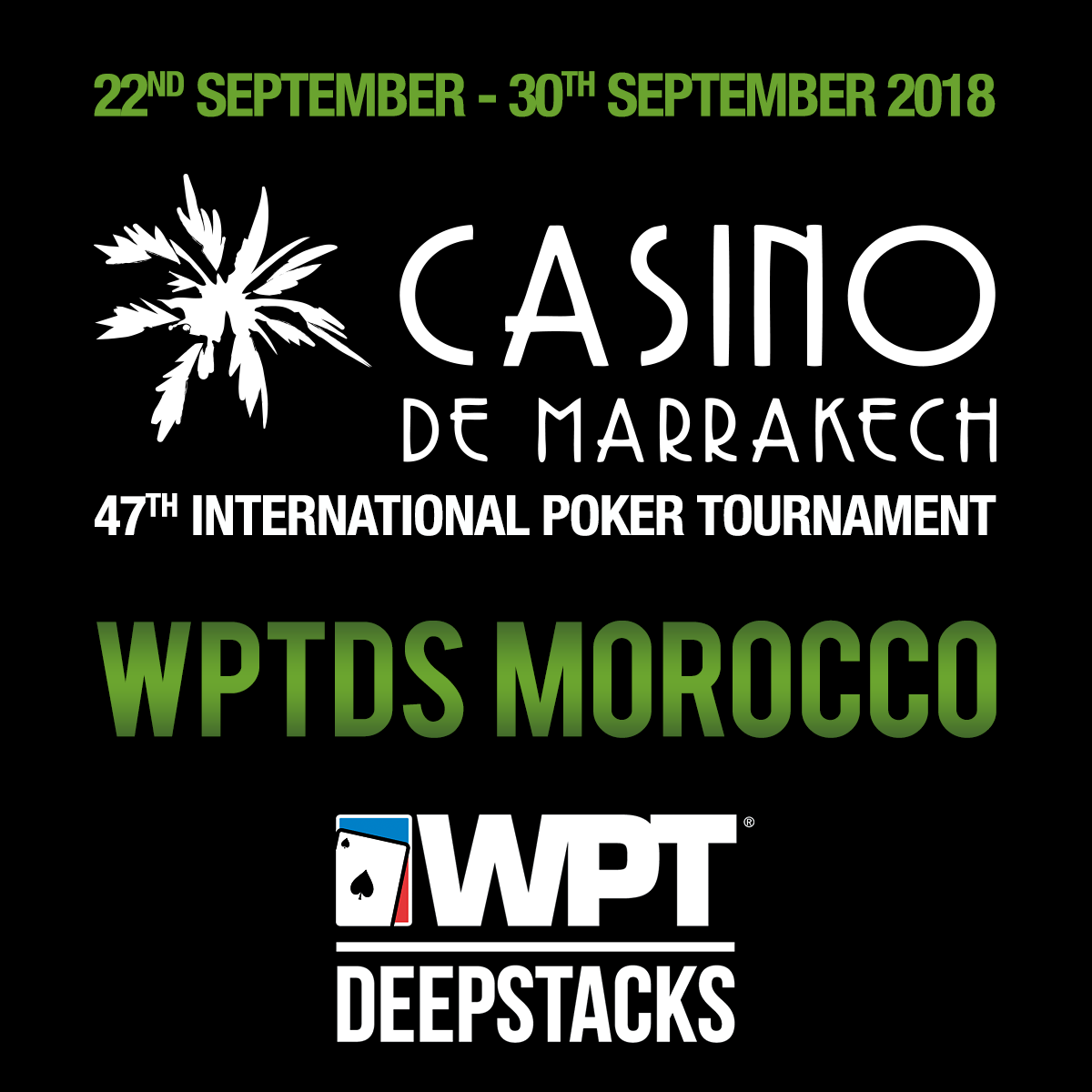 WPTDS MOROCCO 2018 – 47ème tournoi international