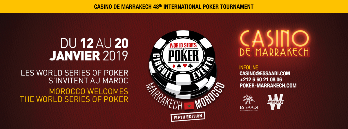 WSOP Circuit Marrakesh 2019