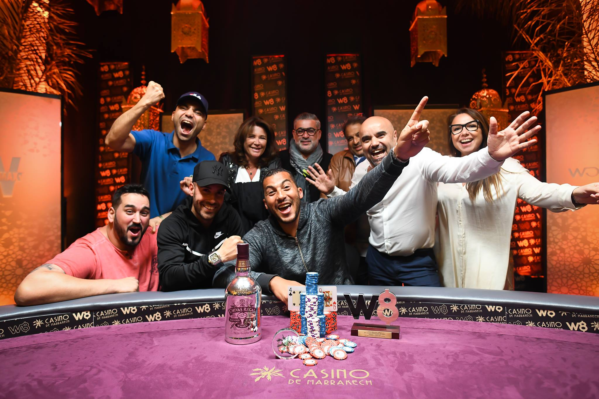 WONDER8 MARRAKECH : LE MAIN EVENT POUR ANAS TADINI